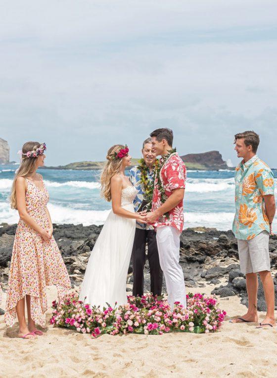 Wedding In Hawaii.Hawaii Beach Wedding Std 하와이웨딩 라벨라하와이 Labella Hawaii