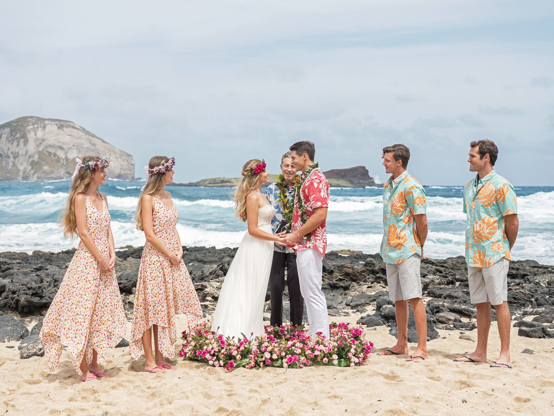 Hawaii Beach Wedding Std 하와이웨딩 라벨라하와이 Labella Hawaii